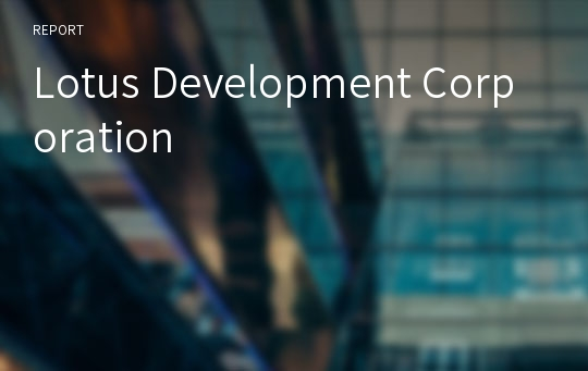 Lotus Development Corporation