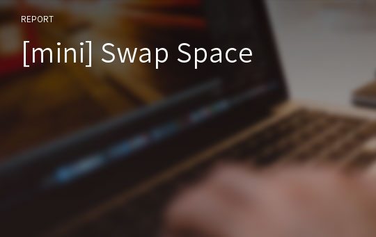 [mini] Swap Space