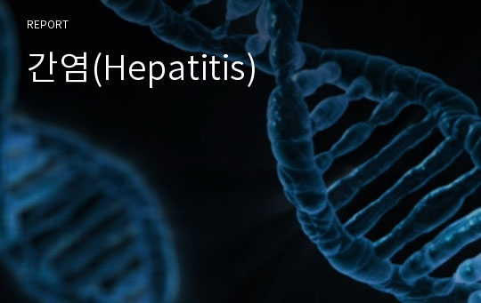간염(Hepatitis)