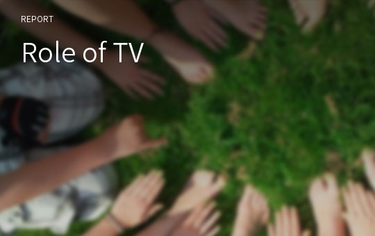 Role of TV