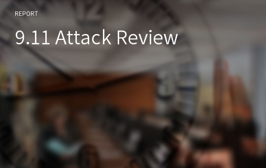 9.11 Attack Review