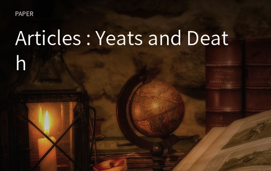 Articles : Yeats and Death