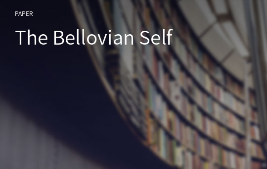 The Bellovian Self