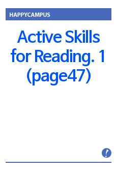 Active Skills for Reading. 1 (page47)