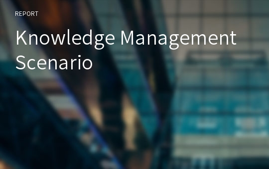 Knowledge Management Scenario