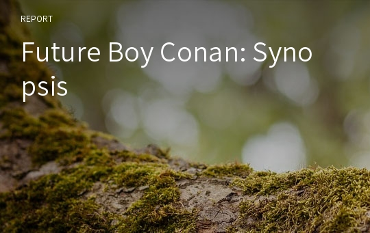 Future Boy Conan: Synopsis