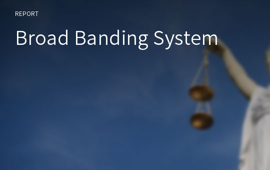 Broad Banding System