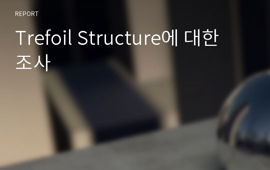 Trefoil Structure에 대한 조사